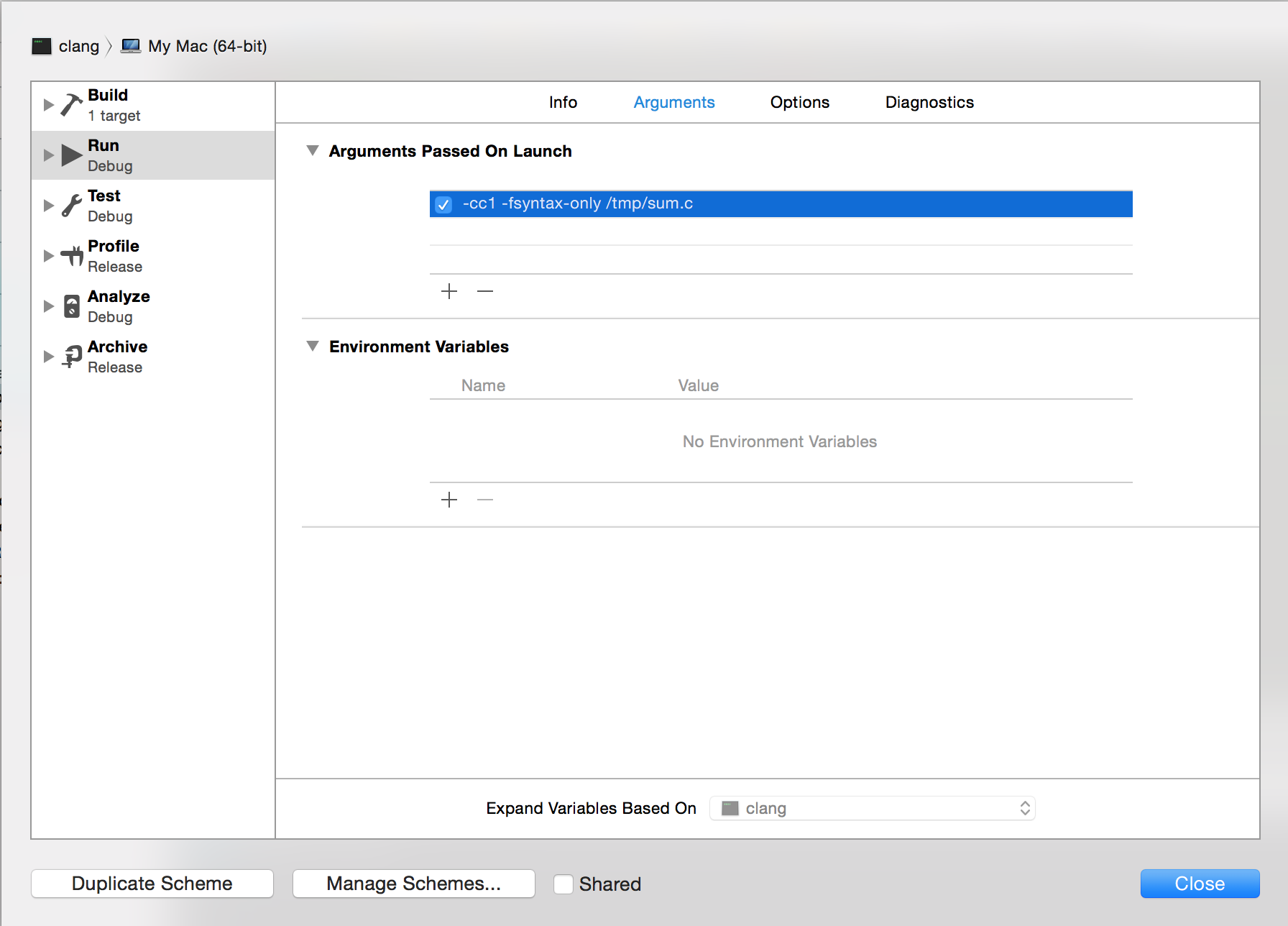 Getting Started With LLVM/Clang on OS X - Low Level Bits