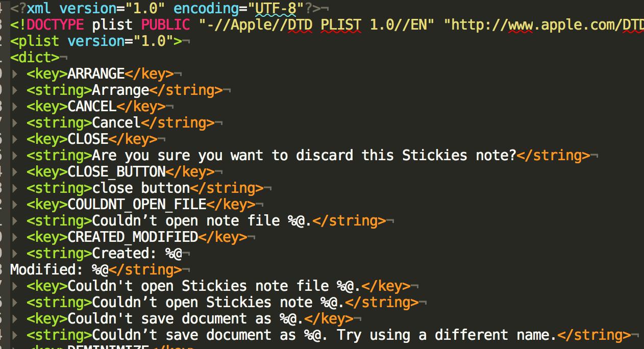 Reverse Engineering Stickies app - Low Level Bits